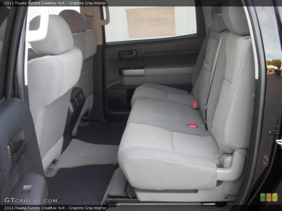 Graphite Gray Interior Photo for the 2011 Toyota Tundra CrewMax 4x4 #38874604