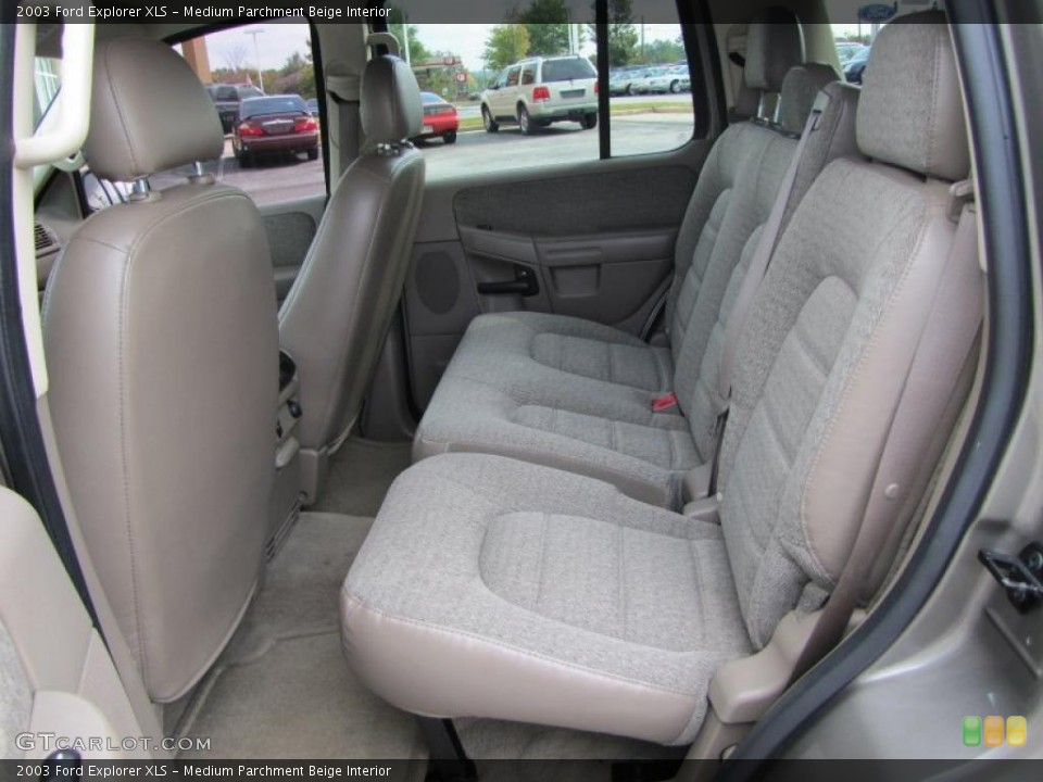 Medium Parchment Beige Interior Photo for the 2003 Ford Explorer XLS #38895750