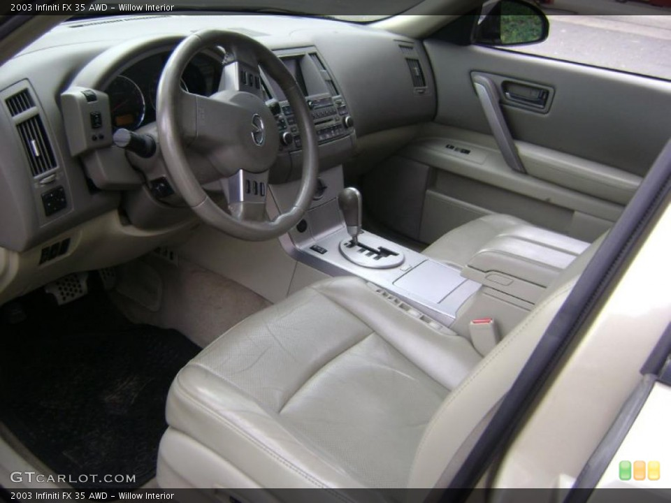 Willow Interior Prime Interior for the 2003 Infiniti FX 35 AWD #38961874