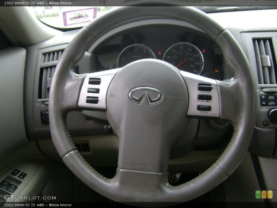 Willow Interior Steering Wheel for the 2003 Infiniti FX 35 AWD #38962010