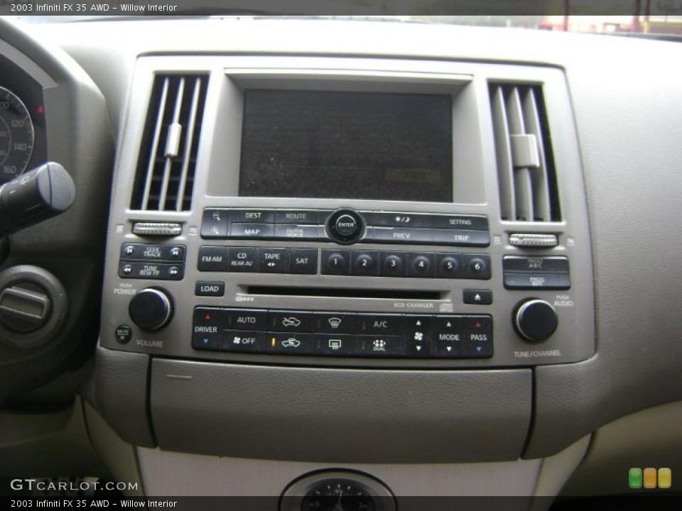 Willow Interior Controls for the 2003 Infiniti FX 35 AWD #38962030