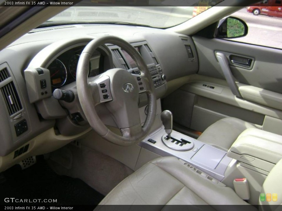 Willow Interior Prime Interior for the 2003 Infiniti FX 35 AWD #38962122