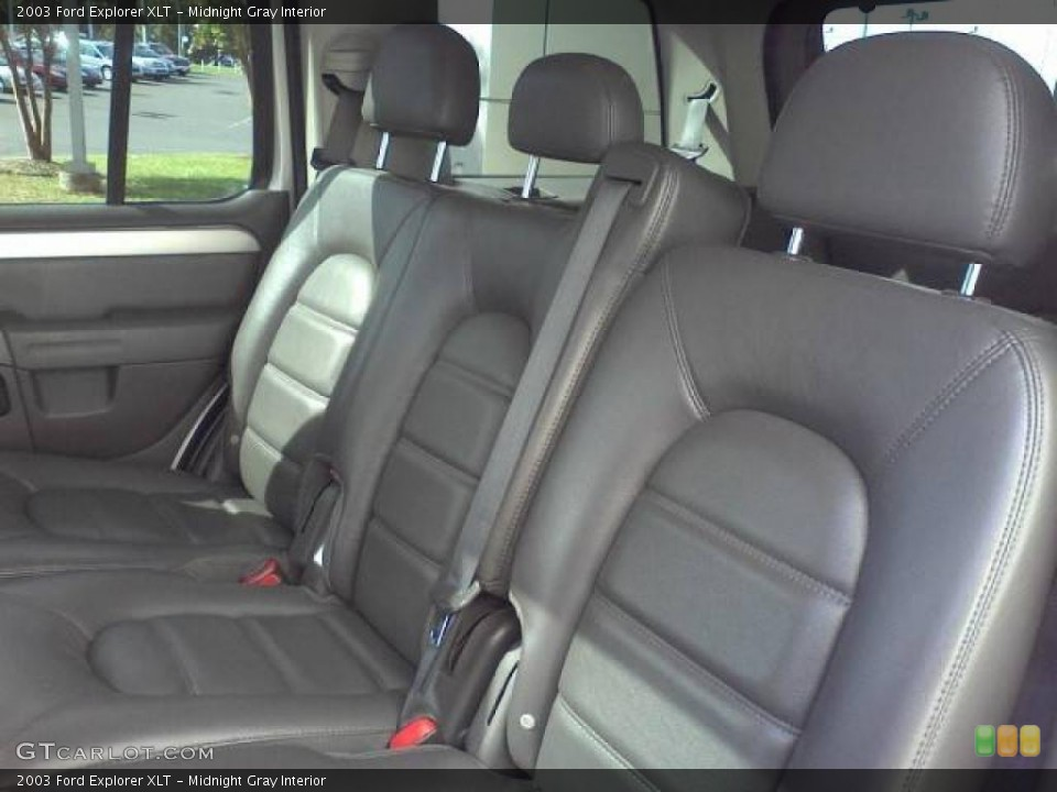 Midnight Gray Interior Photo for the 2003 Ford Explorer XLT #39054640