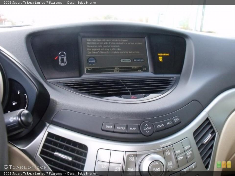 Desert Beige Interior Navigation for the 2008 Subaru Tribeca Limited 7 Passenger #39111273