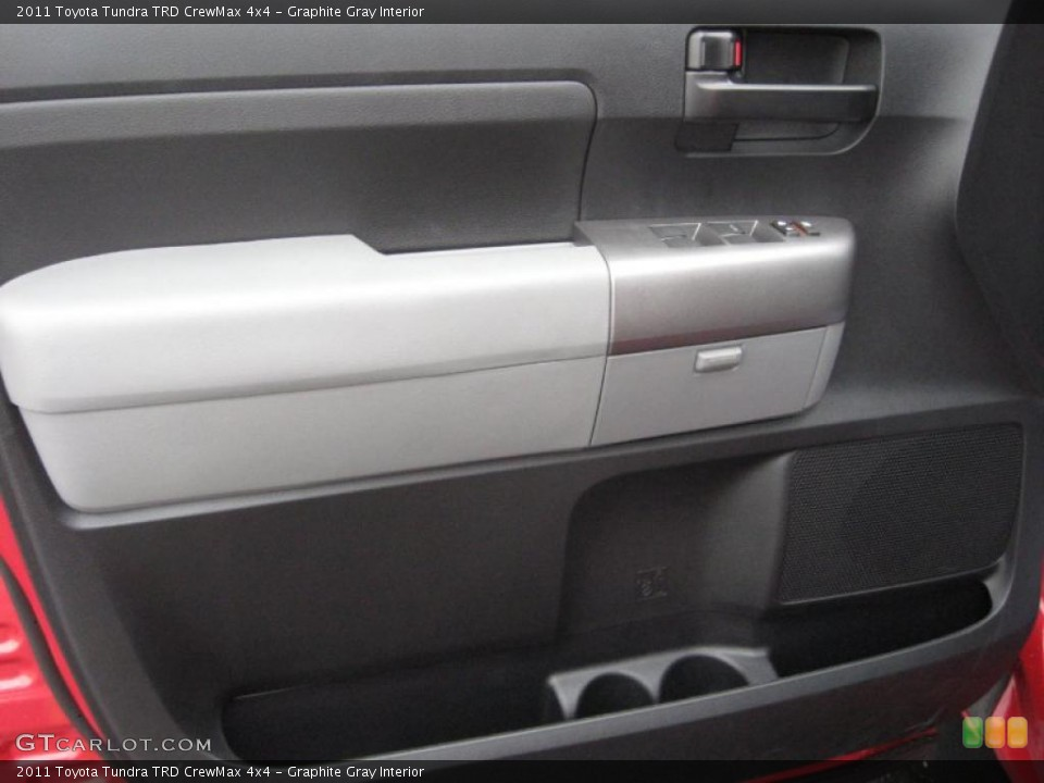 Graphite Gray Interior Door Panel for the 2011 Toyota Tundra TRD CrewMax 4x4 #39182039