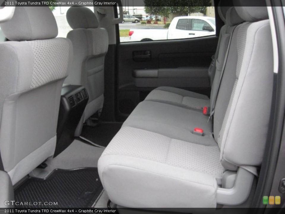 Graphite Gray Interior Photo for the 2011 Toyota Tundra TRD CrewMax 4x4 #39182555