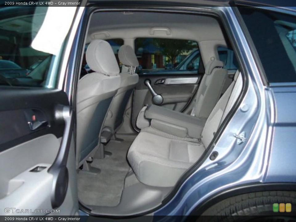 Gray Interior Photo for the 2009 Honda CR-V LX 4WD #39220626