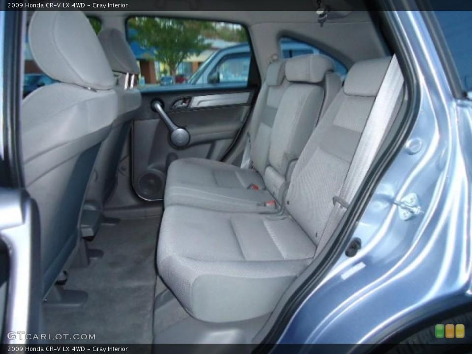 Gray Interior Photo for the 2009 Honda CR-V LX 4WD #39220654