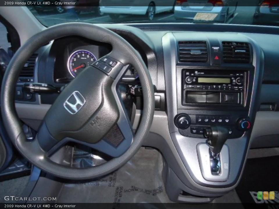 Gray Interior Dashboard for the 2009 Honda CR-V LX 4WD #39220670