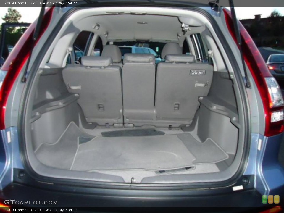 Gray Interior Trunk for the 2009 Honda CR-V LX 4WD #39220730