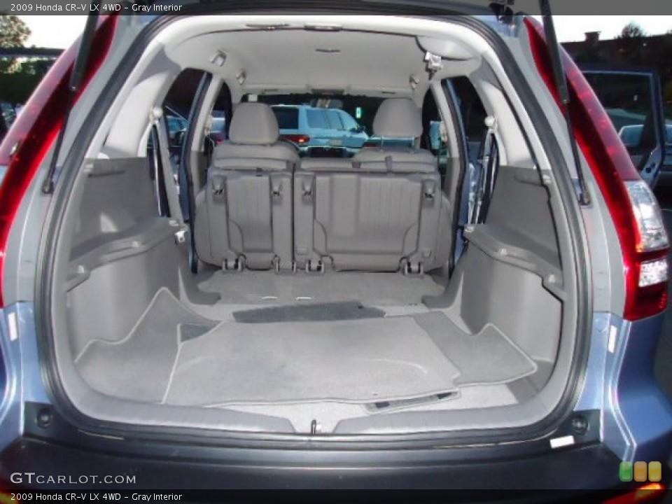 Gray Interior Trunk for the 2009 Honda CR-V LX 4WD #39220770