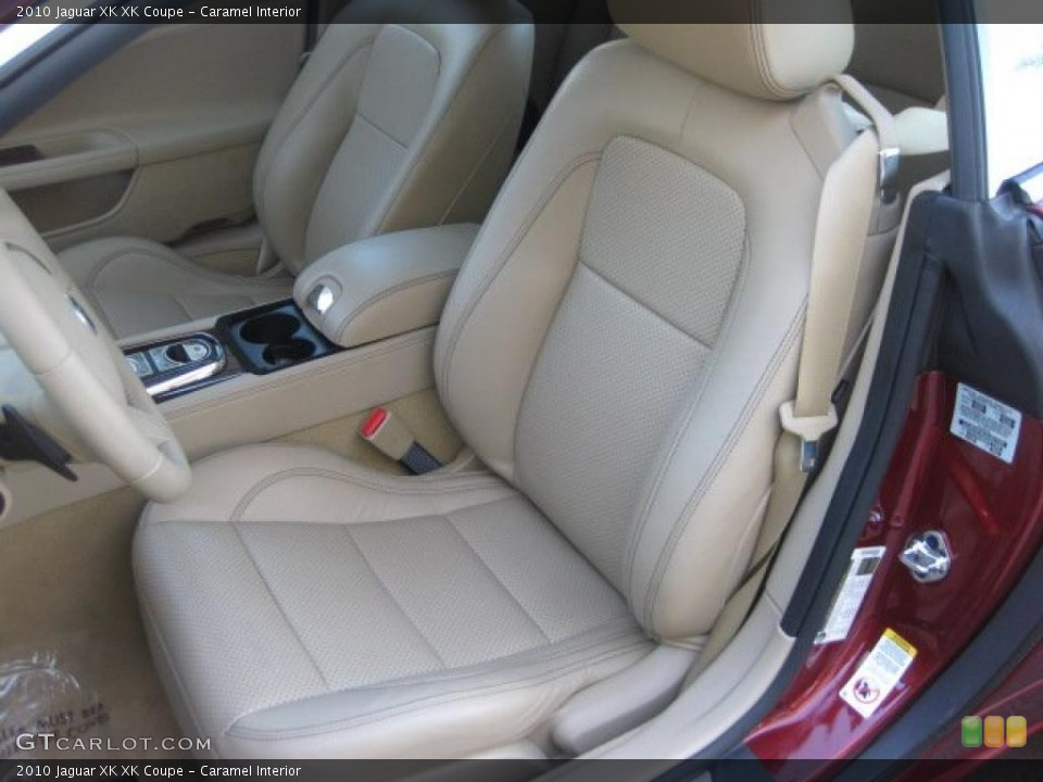 Caramel Interior Photo for the 2010 Jaguar XK XK Coupe #39239133