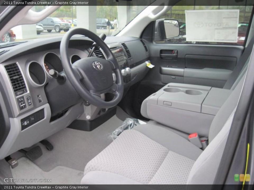 Graphite Gray Interior Prime Interior for the 2011 Toyota Tundra CrewMax #39296971