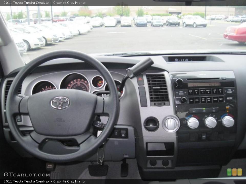 Graphite Gray Interior Dashboard for the 2011 Toyota Tundra CrewMax #39297007