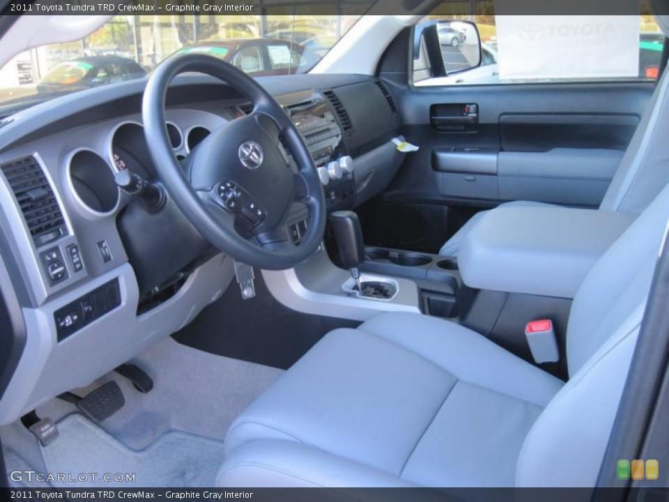 Graphite Gray Interior Prime Interior for the 2011 Toyota Tundra TRD CrewMax #39297463