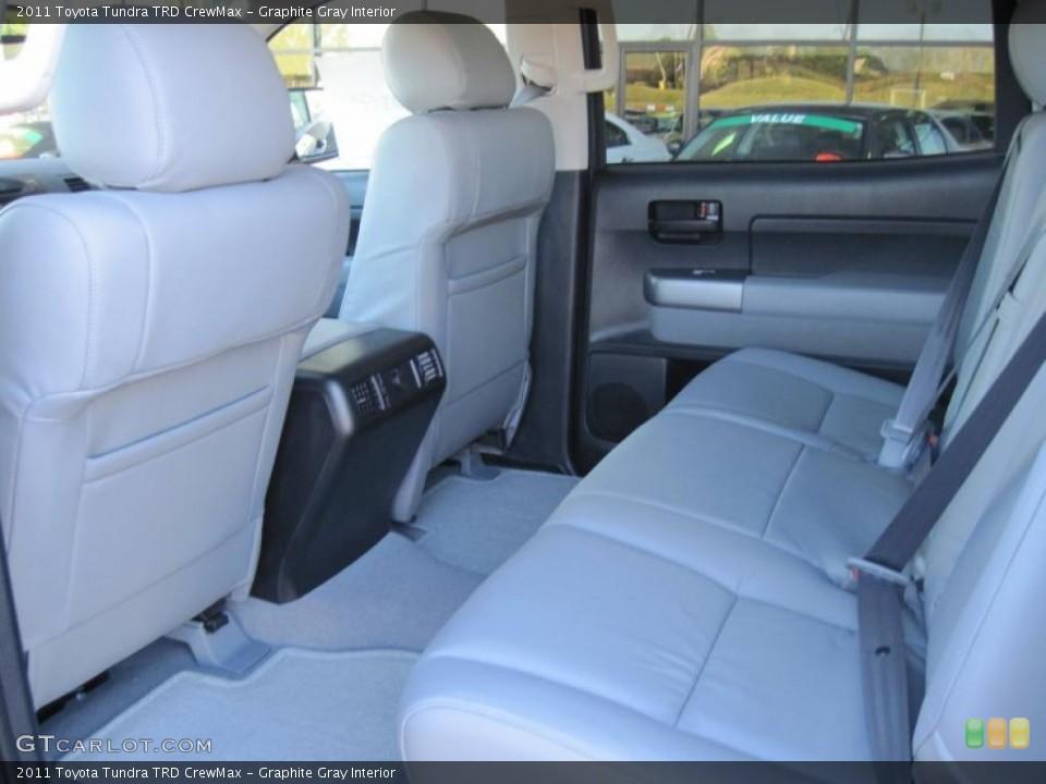 Graphite Gray Interior Photo for the 2011 Toyota Tundra TRD CrewMax #39297475