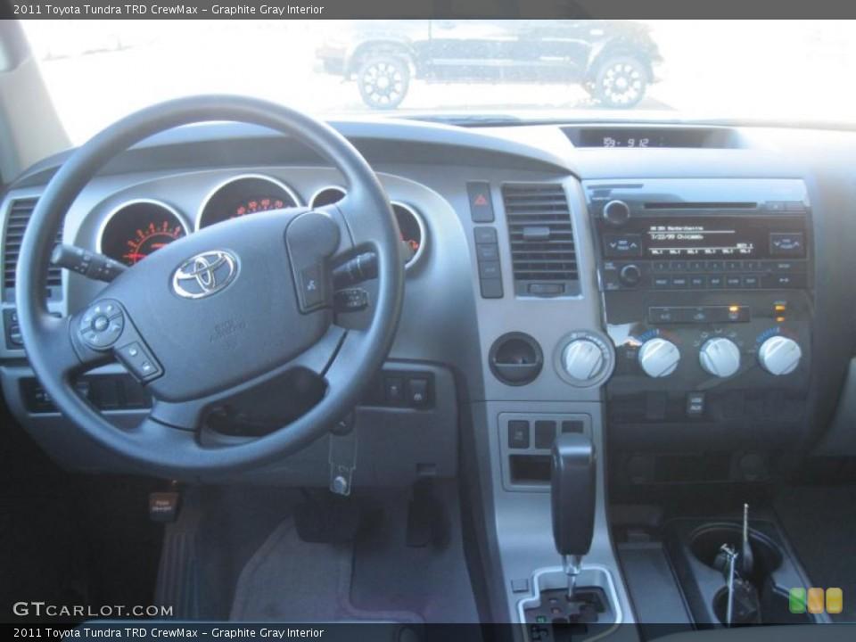 Graphite Gray Interior Dashboard for the 2011 Toyota Tundra TRD CrewMax #39297495