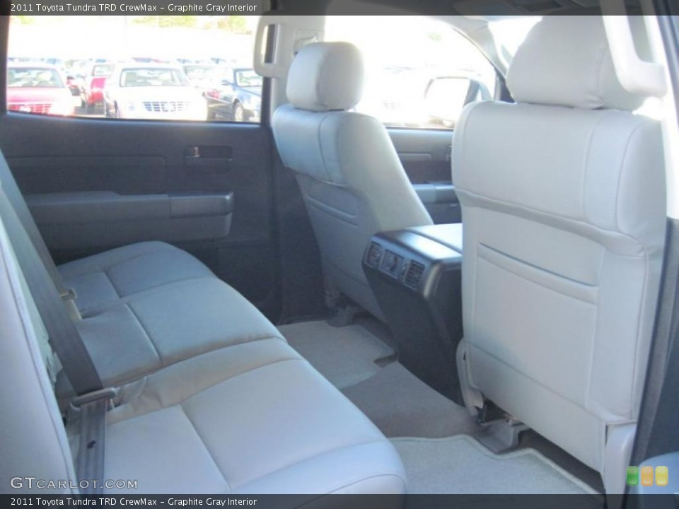 Graphite Gray Interior Photo for the 2011 Toyota Tundra TRD CrewMax #39297511