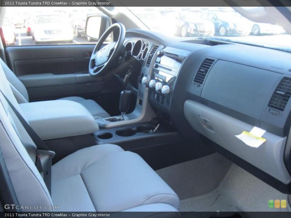 Graphite Gray Interior Dashboard for the 2011 Toyota Tundra TRD CrewMax #39297527