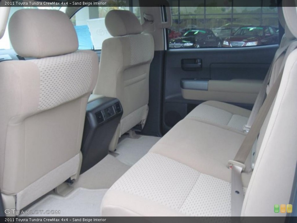 Sand Beige Interior Photo for the 2011 Toyota Tundra CrewMax 4x4 #39297967