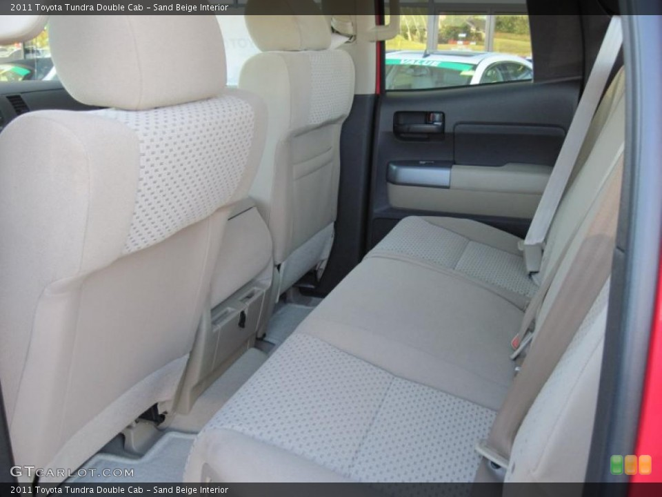Sand Beige Interior Photo for the 2011 Toyota Tundra Double Cab #39298953