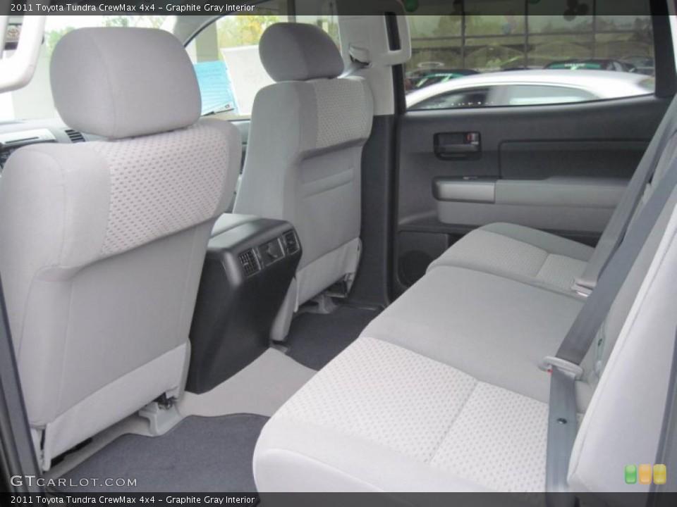 Graphite Gray Interior Photo for the 2011 Toyota Tundra CrewMax 4x4 #39299206