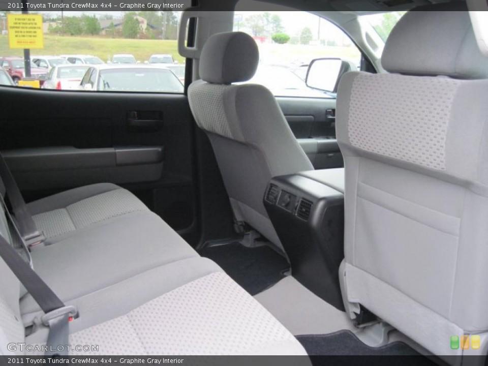 Graphite Gray Interior Photo for the 2011 Toyota Tundra CrewMax 4x4 #39299245