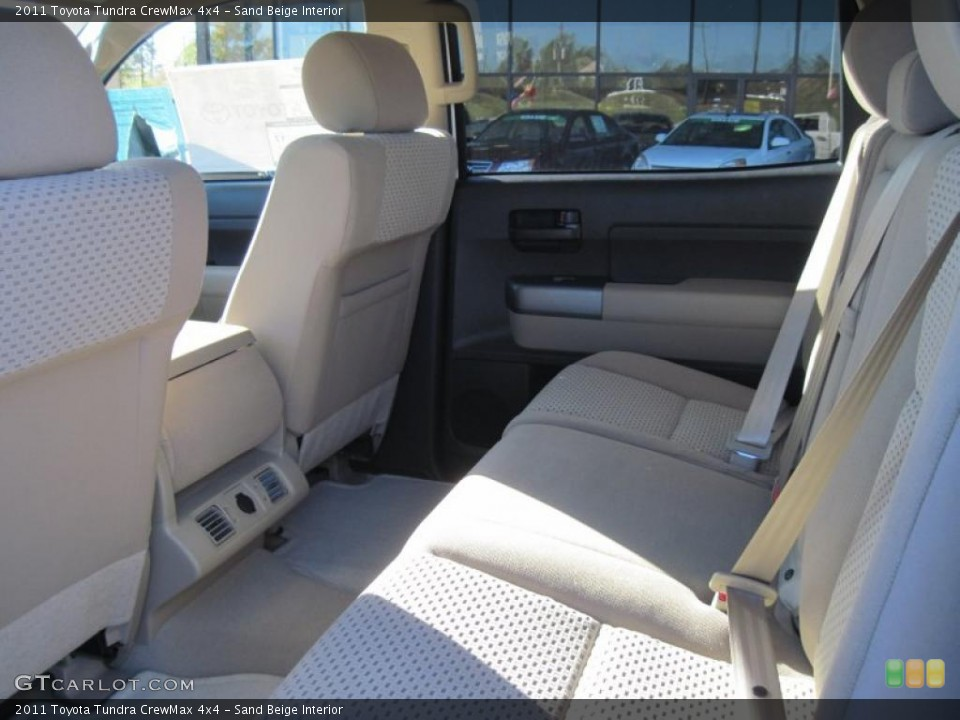 Sand Beige Interior Photo for the 2011 Toyota Tundra CrewMax 4x4 #39299465