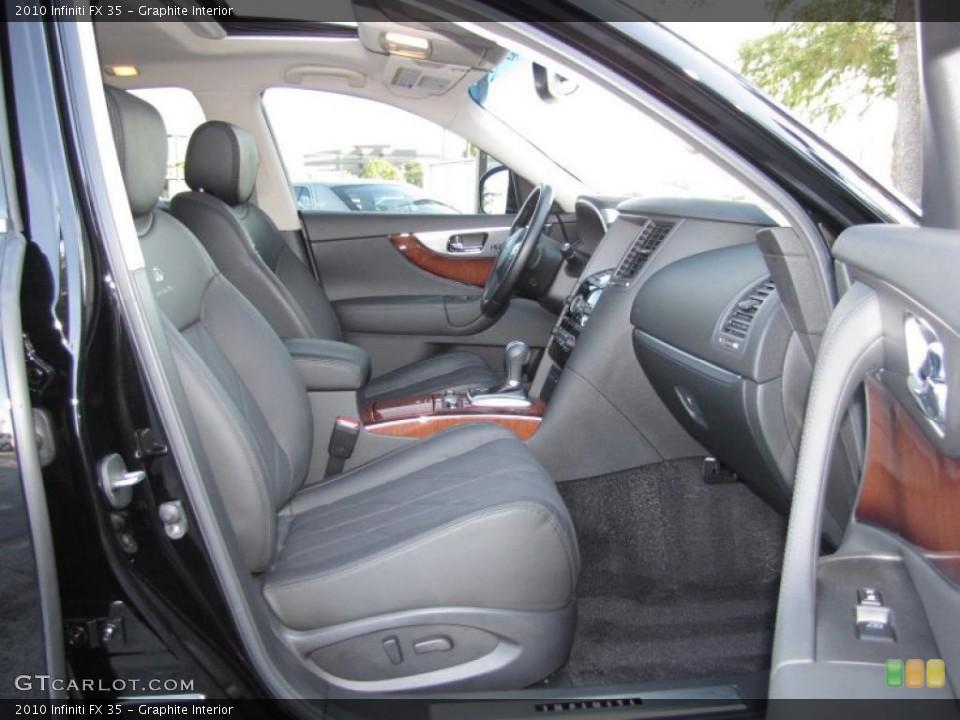 Graphite Interior Photo for the 2010 Infiniti FX 35 #39323761