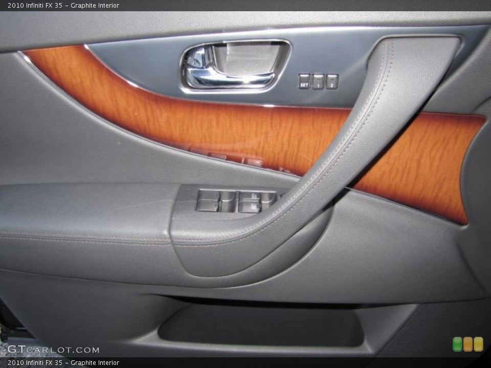 Graphite Interior Door Panel for the 2010 Infiniti FX 35 #39323769