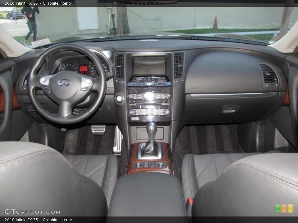Graphite Interior Dashboard for the 2010 Infiniti FX 35 #39323773