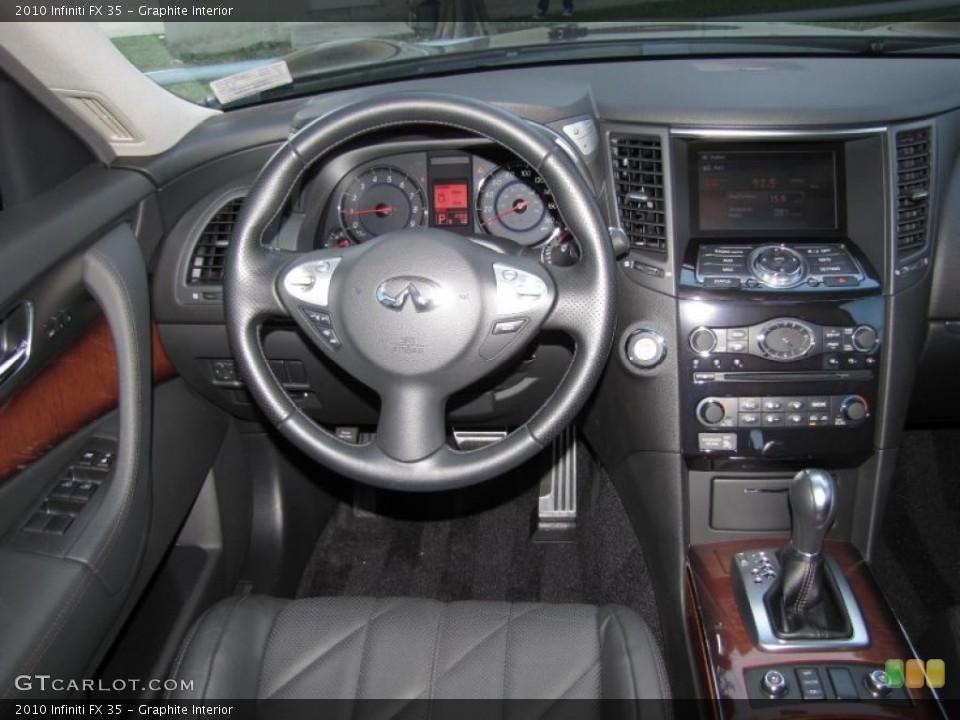 Graphite Interior Dashboard for the 2010 Infiniti FX 35 #39323777