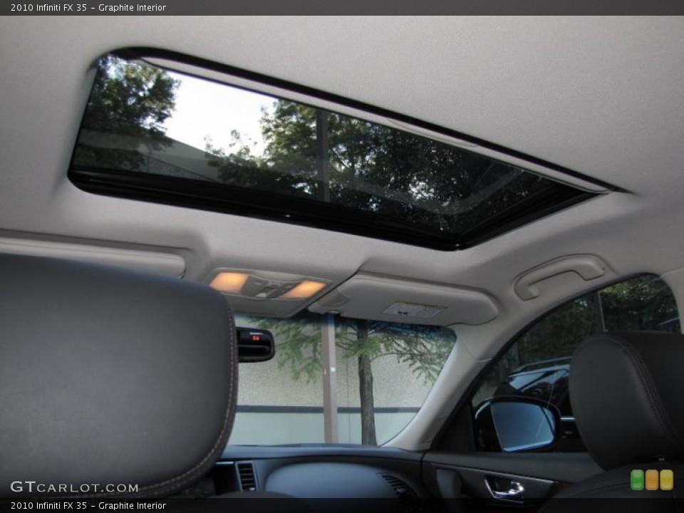 Graphite Interior Sunroof for the 2010 Infiniti FX 35 #39323793