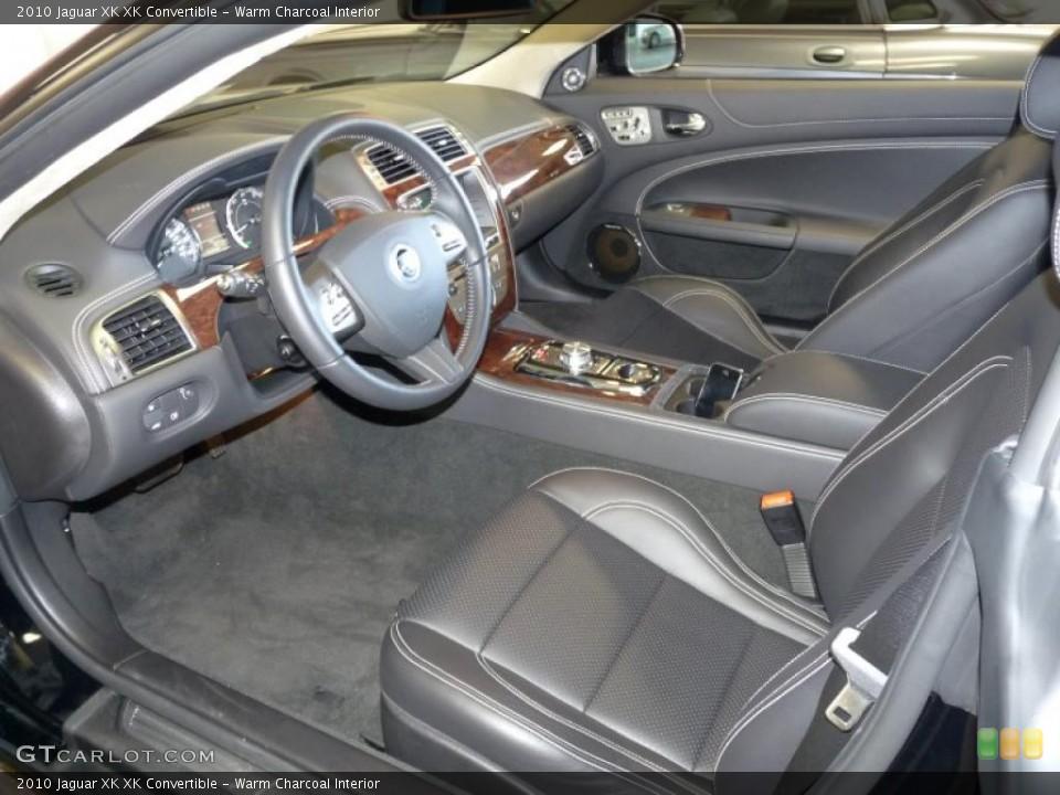 Warm Charcoal Interior Prime Interior for the 2010 Jaguar XK XK Convertible #39375006