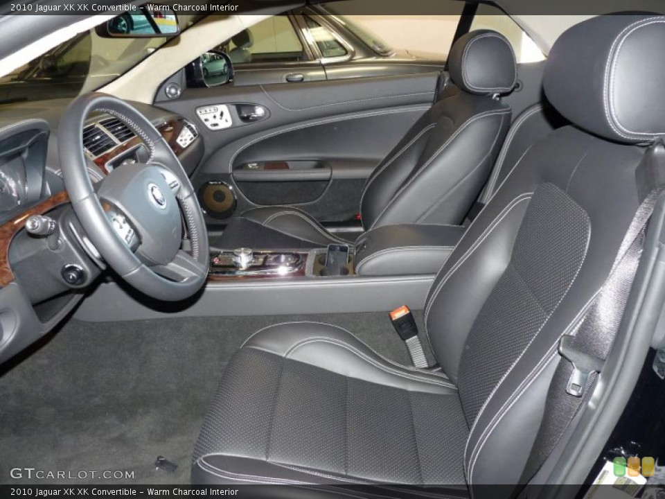 Warm Charcoal Interior Photo for the 2010 Jaguar XK XK Convertible #39375038