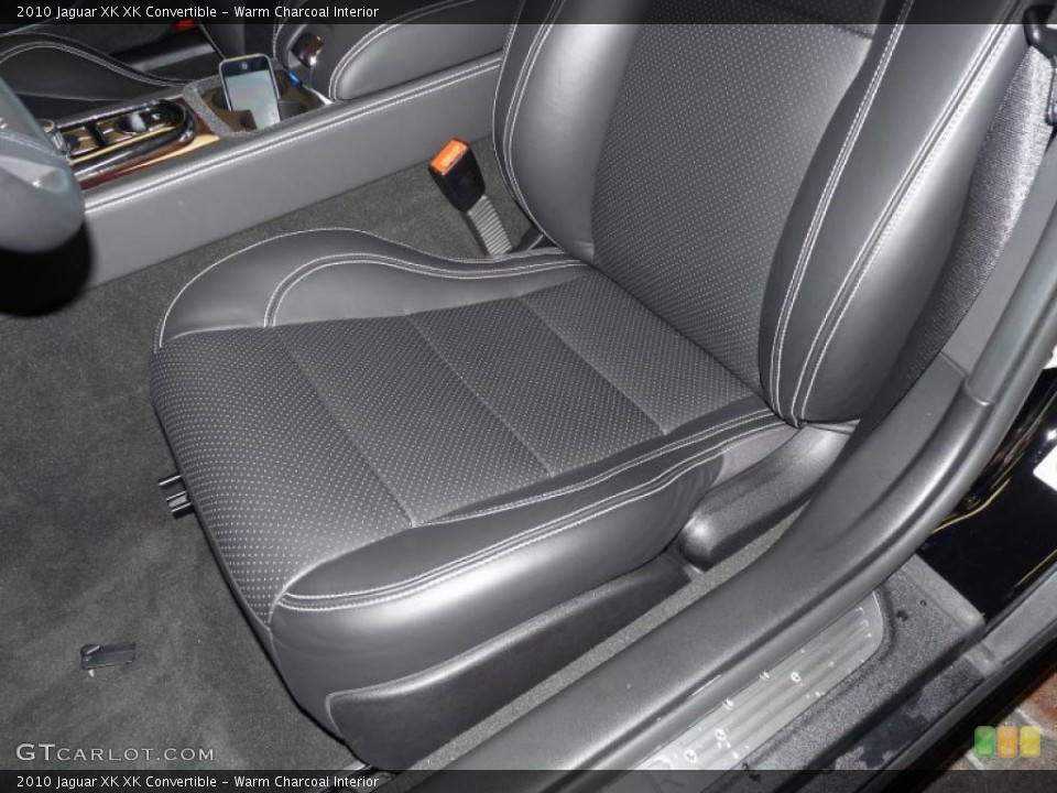 Warm Charcoal Interior Photo for the 2010 Jaguar XK XK Convertible #39375070