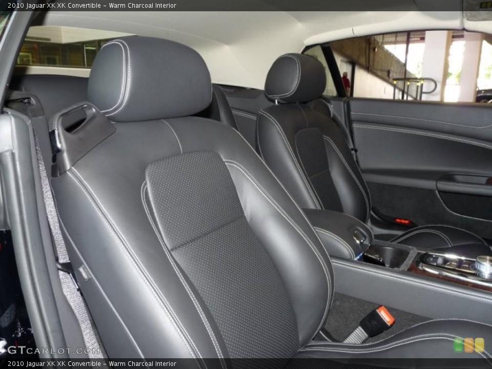 Warm Charcoal Interior Photo for the 2010 Jaguar XK XK Convertible #39375154