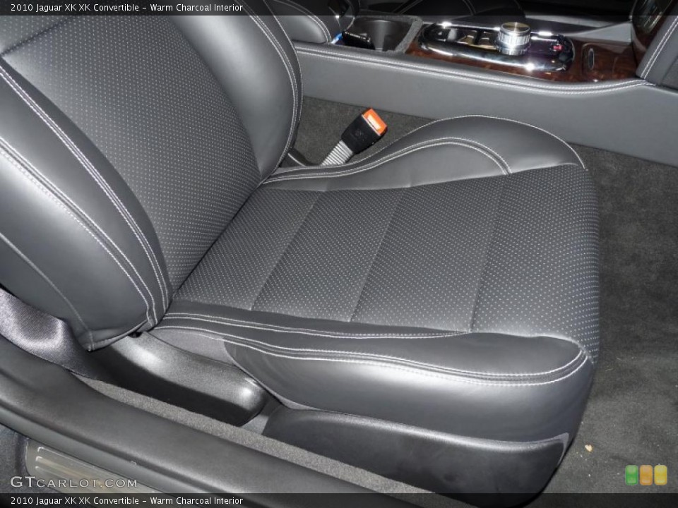 Warm Charcoal Interior Photo for the 2010 Jaguar XK XK Convertible #39375166