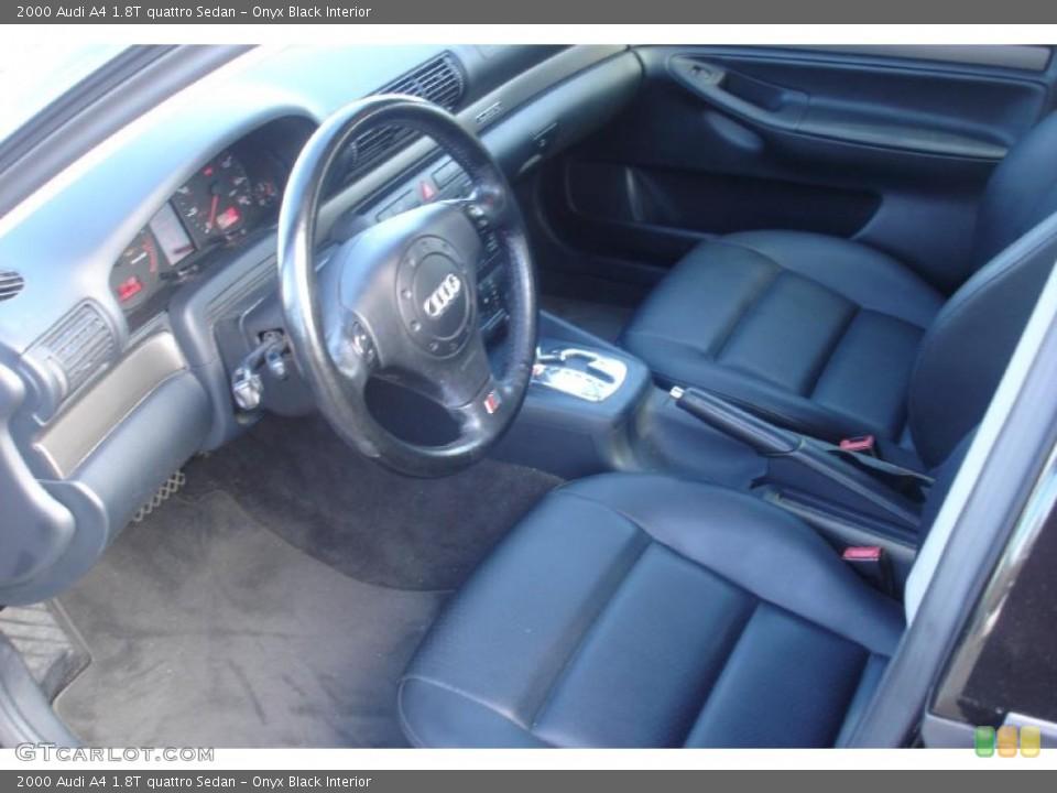 Onyx Black Interior Prime Interior for the 2000 Audi A4 1.8T quattro Sedan #39411249  GTCarLot.com