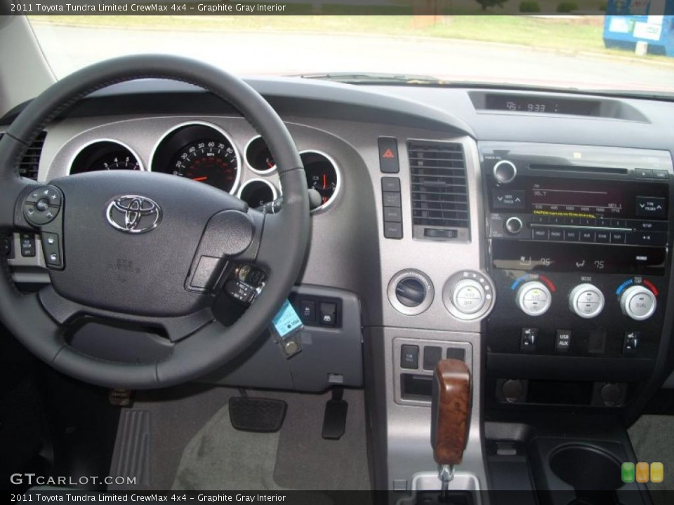 Graphite Gray Interior Dashboard for the 2011 Toyota Tundra Limited CrewMax 4x4 #39420129