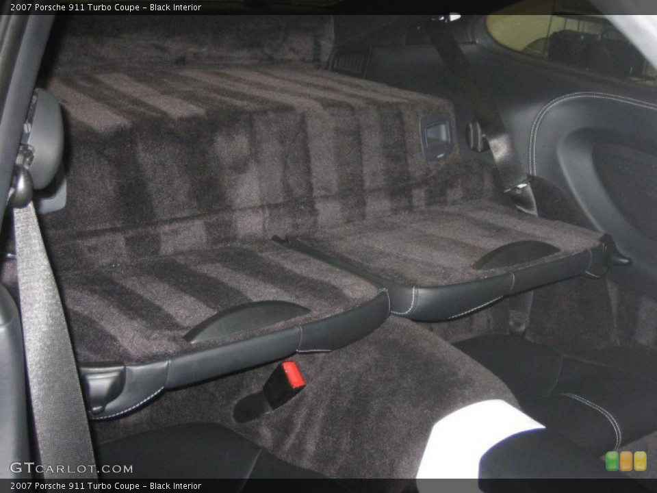 Black Interior Photo for the 2007 Porsche 911 Turbo Coupe #39456038