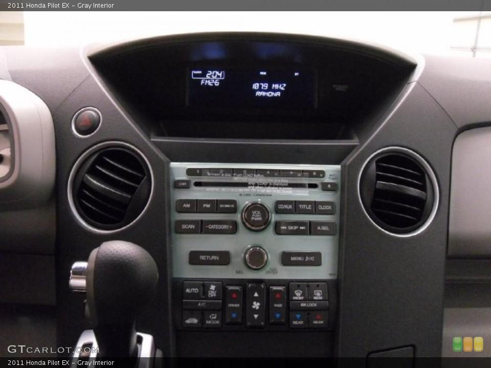 Gray Interior Controls for the 2011 Honda Pilot EX #39531033