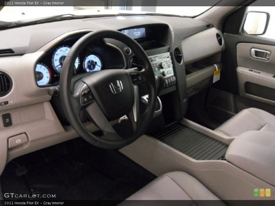 Gray Interior Photo for the 2011 Honda Pilot EX #39531333