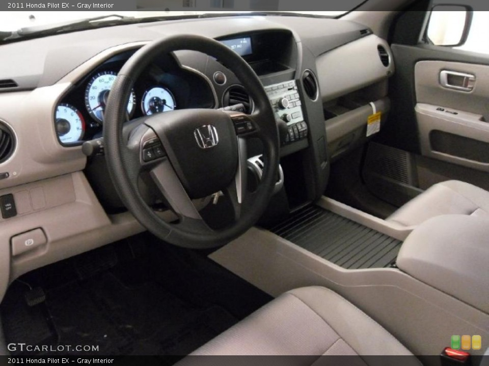Gray Interior Prime Interior for the 2011 Honda Pilot EX #39531849