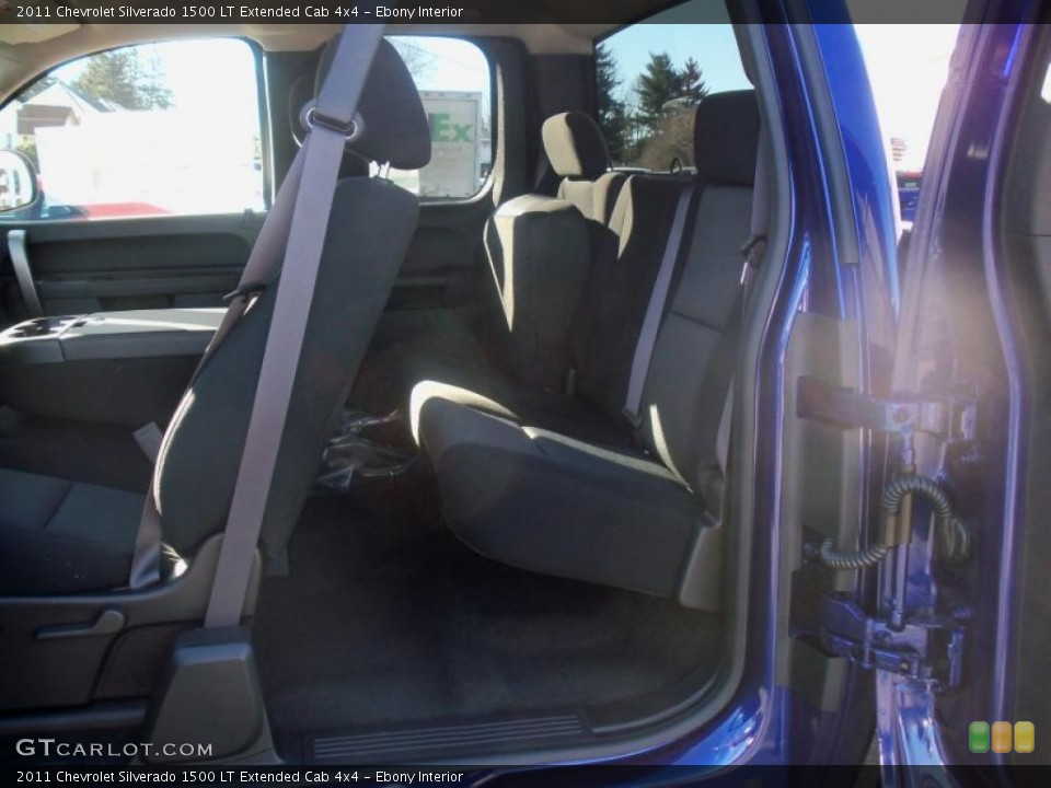 Ebony Interior Photo for the 2011 Chevrolet Silverado 1500 LT Extended Cab 4x4 #39632914