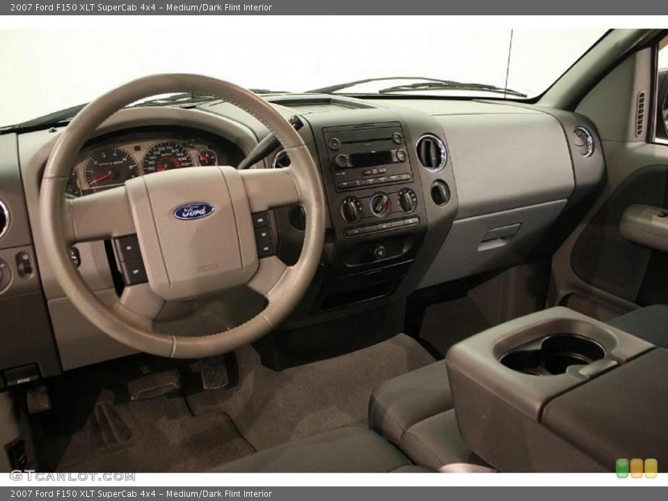 Medium/Dark Flint 2007 Ford F150 Interiors