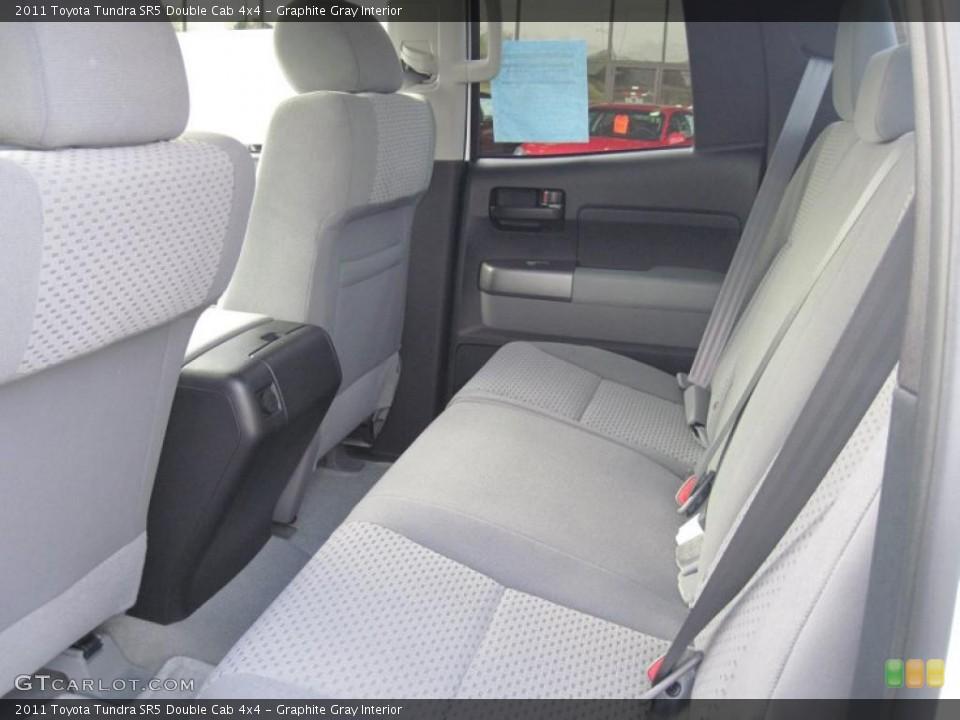 Graphite Gray Interior Photo for the 2011 Toyota Tundra SR5 Double Cab 4x4 #39689103