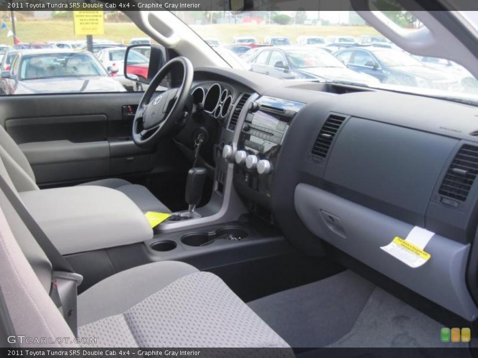 Graphite Gray Interior Photo for the 2011 Toyota Tundra SR5 Double Cab 4x4 #39689131