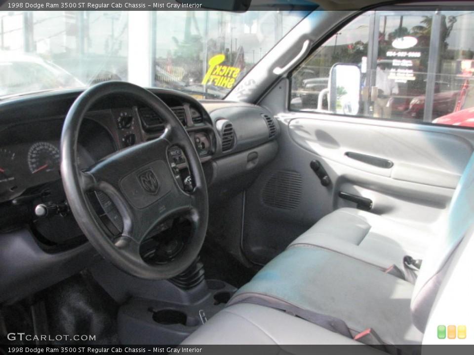 Mist Gray 1998 Dodge Ram 3500 Interiors