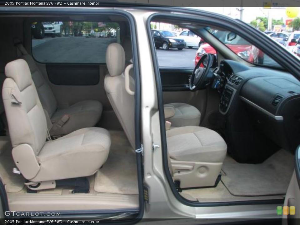 Cashmere Interior Photo for the 2005 Pontiac Montana SV6 FWD #39843035